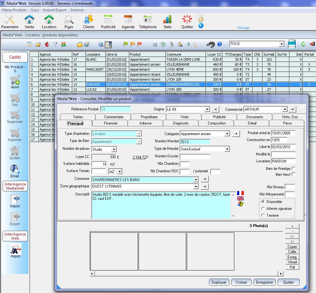Mediaweb un logiciel aux fonctionnalit s adapt es aux for Logiciel facile