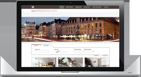 f5be89fd66eda2 Creation de site internet immobilier – site pour agence immobilière ...